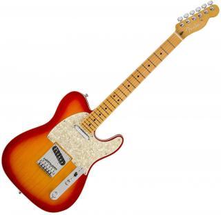 Fender American Ultra Telecaster MN Plasma Red Burst  #928500