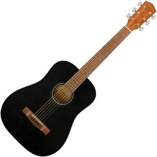 Fender FA-15 Černá Black 3/4