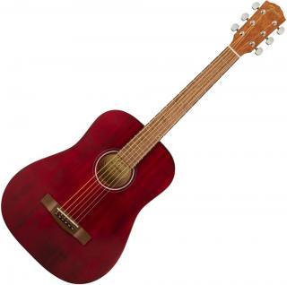 Fender FA-15 Červená Red 3/4