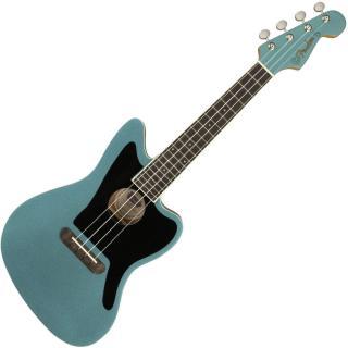 Fender Fullerton Jazzmaster Ukulele Tidepool Blue Concert Ukulele