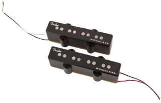 Fender Gen 4 Noiseless Jazz Bass Pickups Set of 2 Black