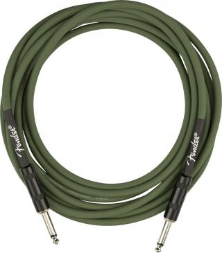 Fender Joe Strummer Pro 13 Instrument Cable Drab Green