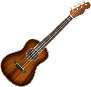 Fender Montecito Tenorové ukulele Tobacco Burst Sunburst Tenor Ukulele