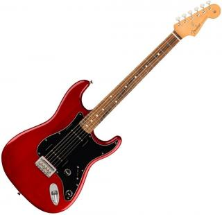 Fender Noventa Stratocaster PF Crimson Red Transparent