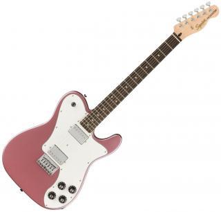 Fender Squier Affinity Series Telecaster Deluxe LRL WPG Burgundy Mist Pink