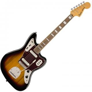 Fender Squier Classic Vibe 70s Jaguar IL 3-Color Sunburst  #928587