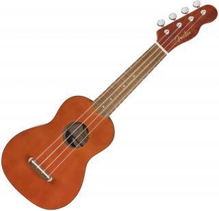 Fender Venice Soprano Ukulele WN Natural Soprano Ukulele