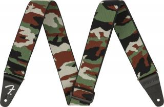 Fender WeighLess 2 Camo Strap Green