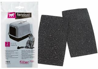 Ferplast L134 Černá 10 Filter For Cat Toillete
