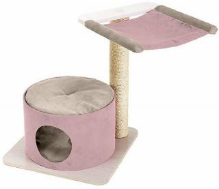 Ferplast Simba Růžová Škrabadlo pro kočky