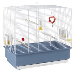 Ferplast střední klec pro ptáky s výbavou REKORD 4 zelená 59x33x57cm