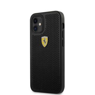 Ferrari On Track Perforated Zadní kryt FESPEHCP12SBK Apple iPhone 12 mini black