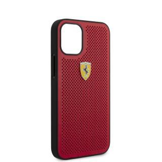 Ferrari On Track Perforated Zadní kryt FESPEHCP12SRE Apple iPhone 12 mini red