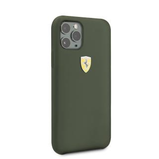 Ferrari SF Silikonový kryt FESSIHCN58MG pro Apple iPhone 11 Pro mid green
