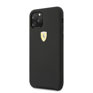 Ferrari SF Silikonový kryt FESSIHCN65BK pro Apple iPhone 11 Pro Max black