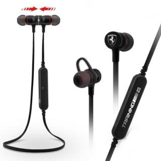 Ferrari Training Wireless FETEPRCBK Stereo Headset black