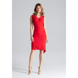 Figl Womans Dress M053 dámské Red L