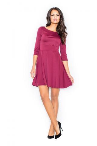Figl Womans Dress M081 Deep dámské Red L