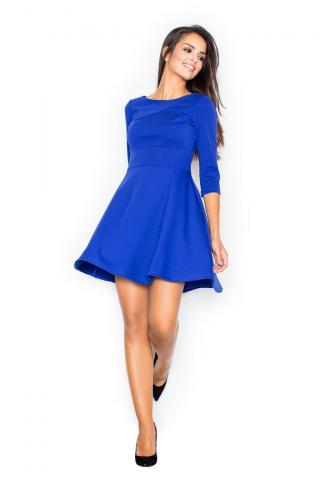 Figl Womans Dress M081 Sapphire dámské Blue XL