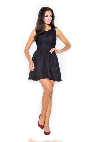 Figl Womans Dress M112 dámské Black L