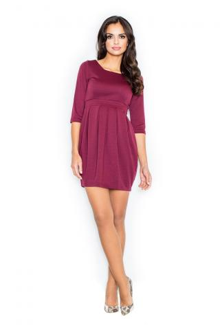Figl Womans Dress M122 Deep dámské Red M