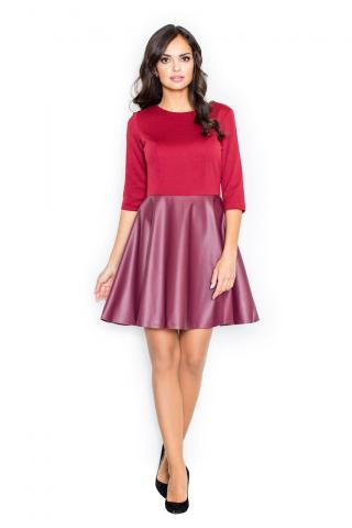 Figl Womans Dress M162 Deep dámské Red S
