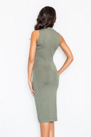 Figl Womans Dress M263 Olive dámské Green L