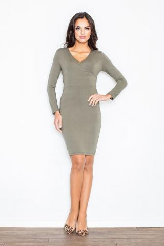 Figl Womans Dress M264 Olive dámské Green S
