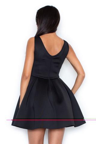 Figl Womans Dress M344 dámské Black L