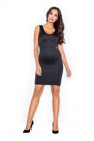 Figl Womans Dress M353 dámské Black S