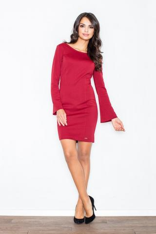 Figl Womans Dress M416 Deep dámské Red S