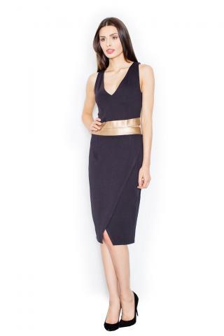 Figl Womans Dress M439 dámské Black S