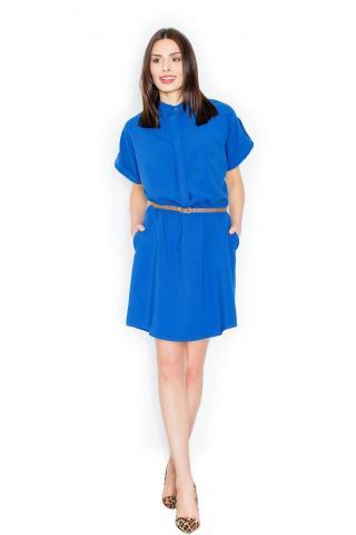 Figl Womans Dress M442 dámské Blue L