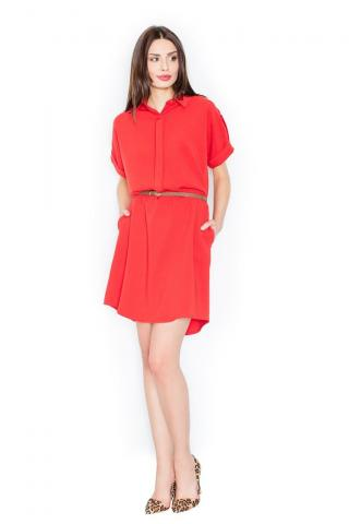 Figl Womans Dress M442 dámské Red S