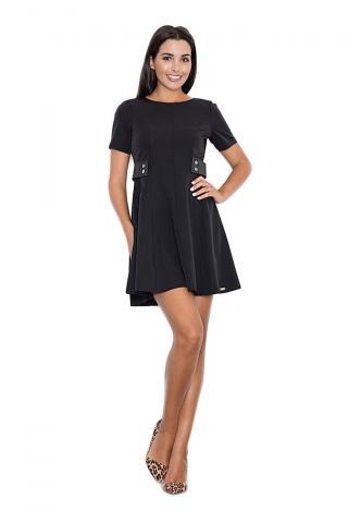 Figl Womans Dress M444 dámské Black S