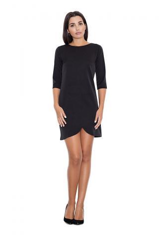 Figl Womans Dress M449 dámské Black S