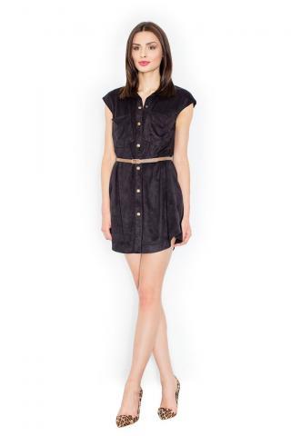 Figl Womans Dress M451 dámské Black M