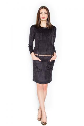 Figl Womans Dress M452 dámské Black S