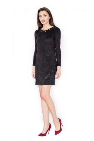 Figl Womans Dress M455 dámské Black S