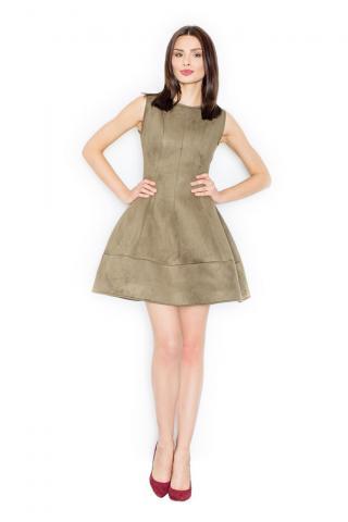 Figl Womans Dress M457 Olive dámské Green S