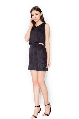 Figl Womans Dress M461 dámské Black S
