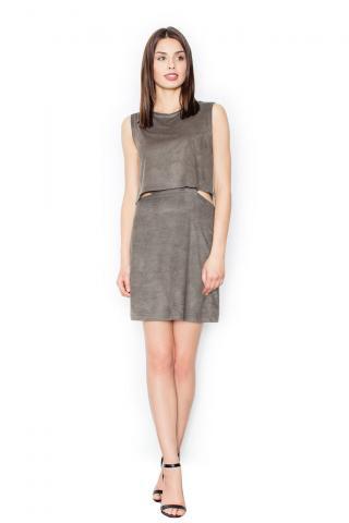Figl Womans Dress M461 Olive dámské Green S