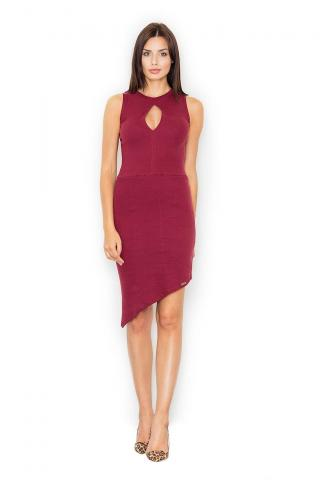 Figl Womans Dress M486 Deep dámské Red S