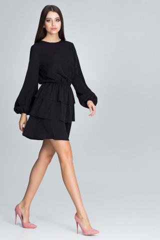 Figl Womans Dress M601 dámské Black M