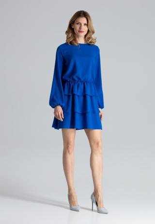 Figl Womans Dress M601 dámské Blue S
