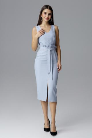 Figl Womans Dress M633 Light dámské Blue S