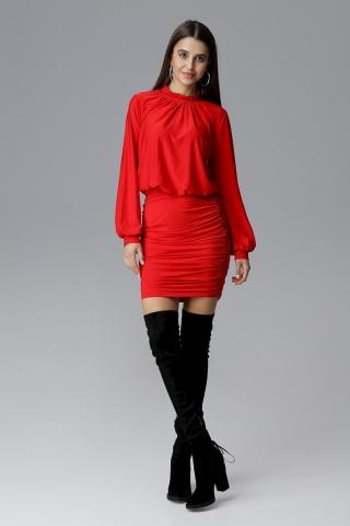 Figl Womans Dress M635 dámské Red L
