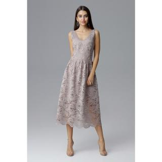 Figl Womans Dress M639 dámské Beige S