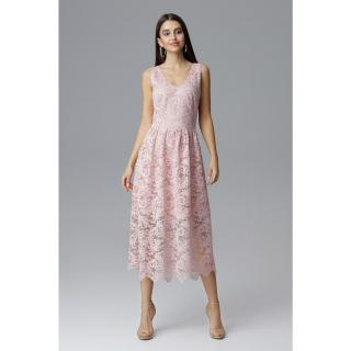 Figl Womans Dress M639 dámské Pink S