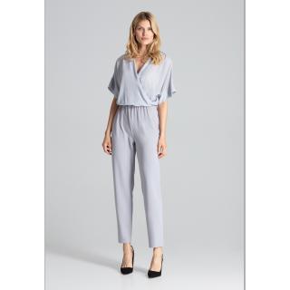Figl Womans Jumpsuit M684 dámské Grey S